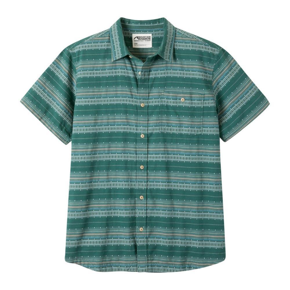 Mountain Khakis Men's Horizon Short Sleeve Shirt DEEPSEA
