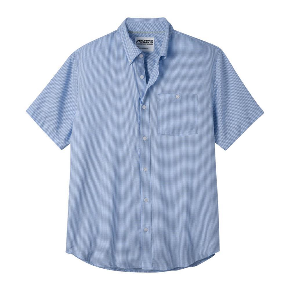 Mountain Khakis Men's Passport EC Short Sleeve Shirt LARKSPUR