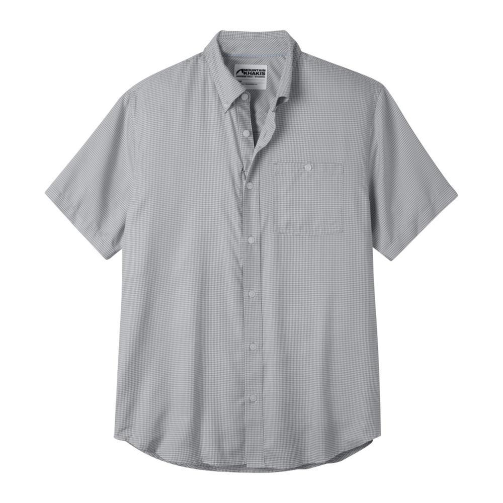 Mountain Khakis Men's Passport EC Short Sleeve Shirt SMOKE