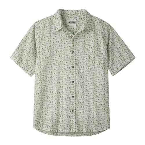 Mountain Khakis Men's Outdoorist Print Short Sleeve Shirt