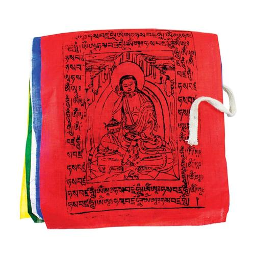 Tibet Collection Prayer Flag: Gu-Chu-Sum Diety - Medium