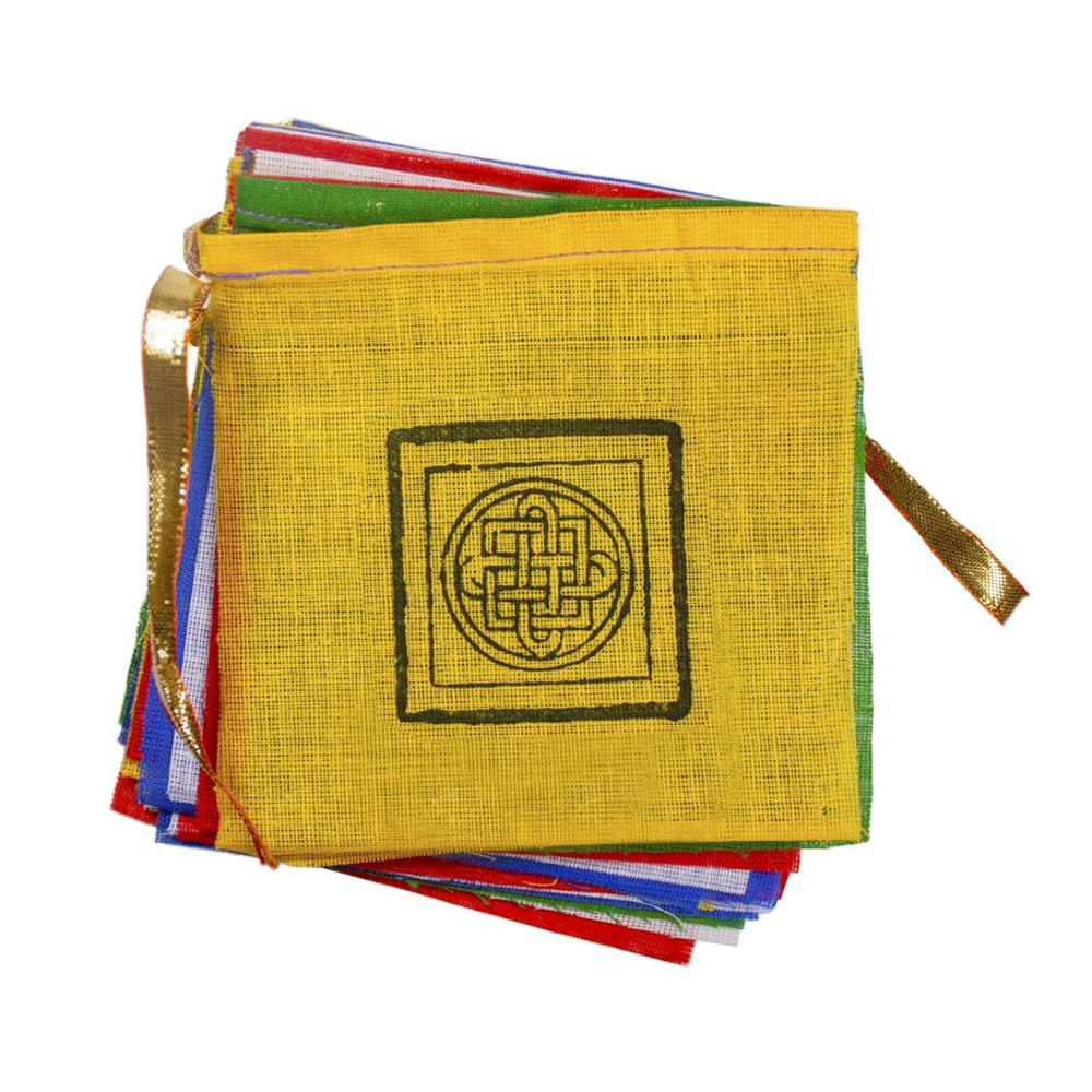 Tibet Collection Prayer Flag: Gu-Chu-Sum Lucky Garland MULTI