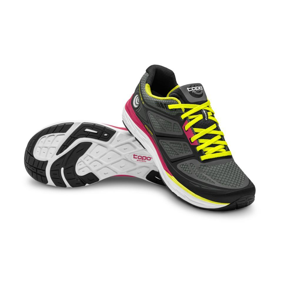 Topo Athletic Women's Fli-Lyte 2 Road Running Shoes BLKYLLW