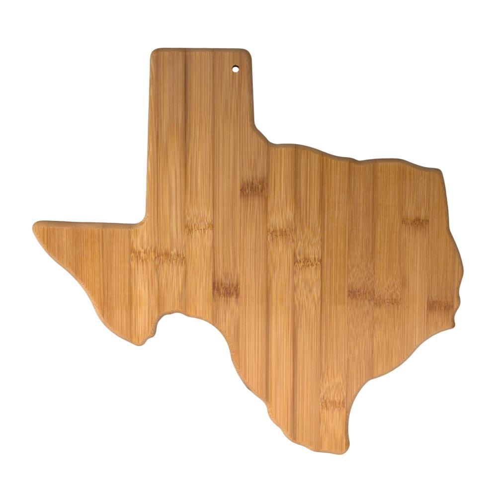 Totally Bamboo Texas Cutting & Serving Board BAMBOO