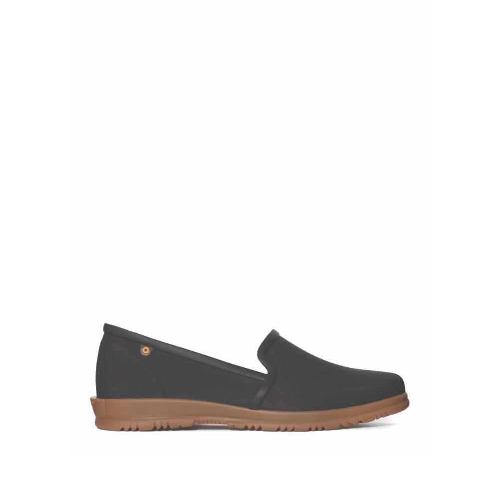 Bogs Women's Sweet Pea Waterproof Slip On Shoes BLACK