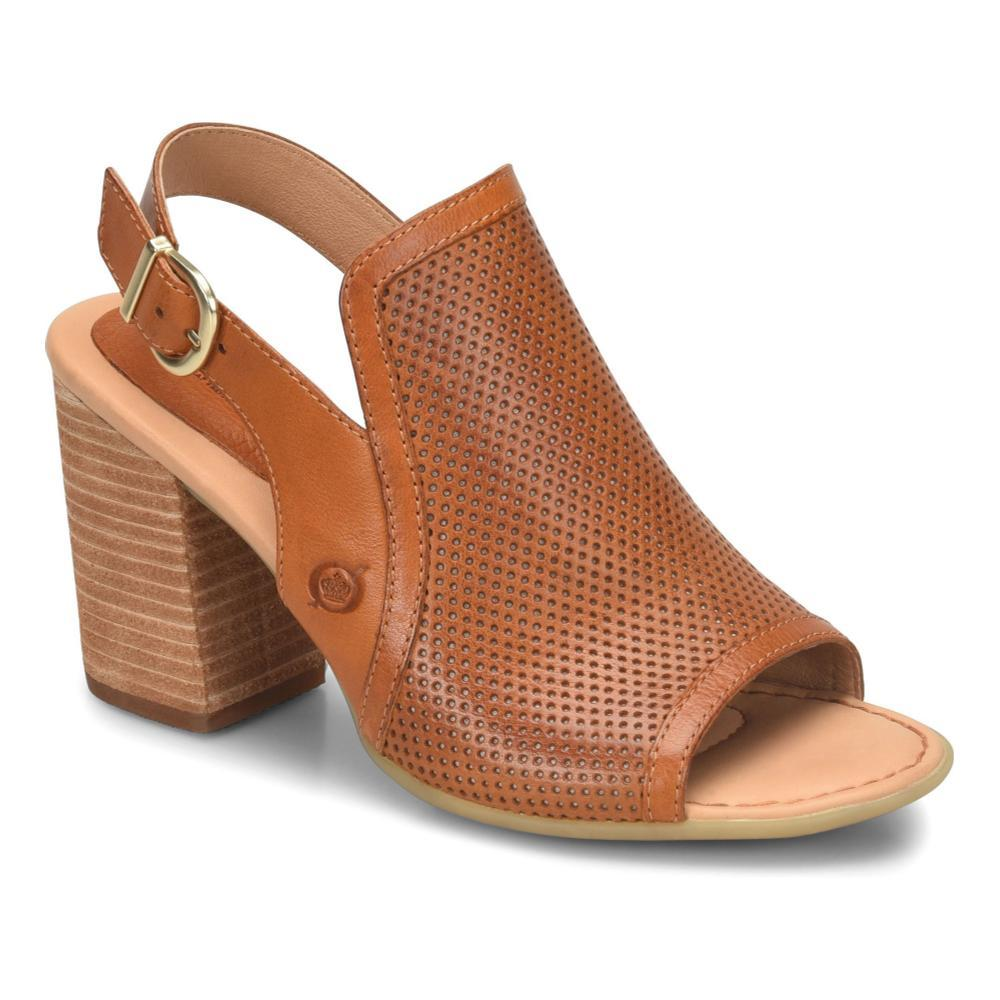 Born Women's Sutra Perf Sandals COGNAC