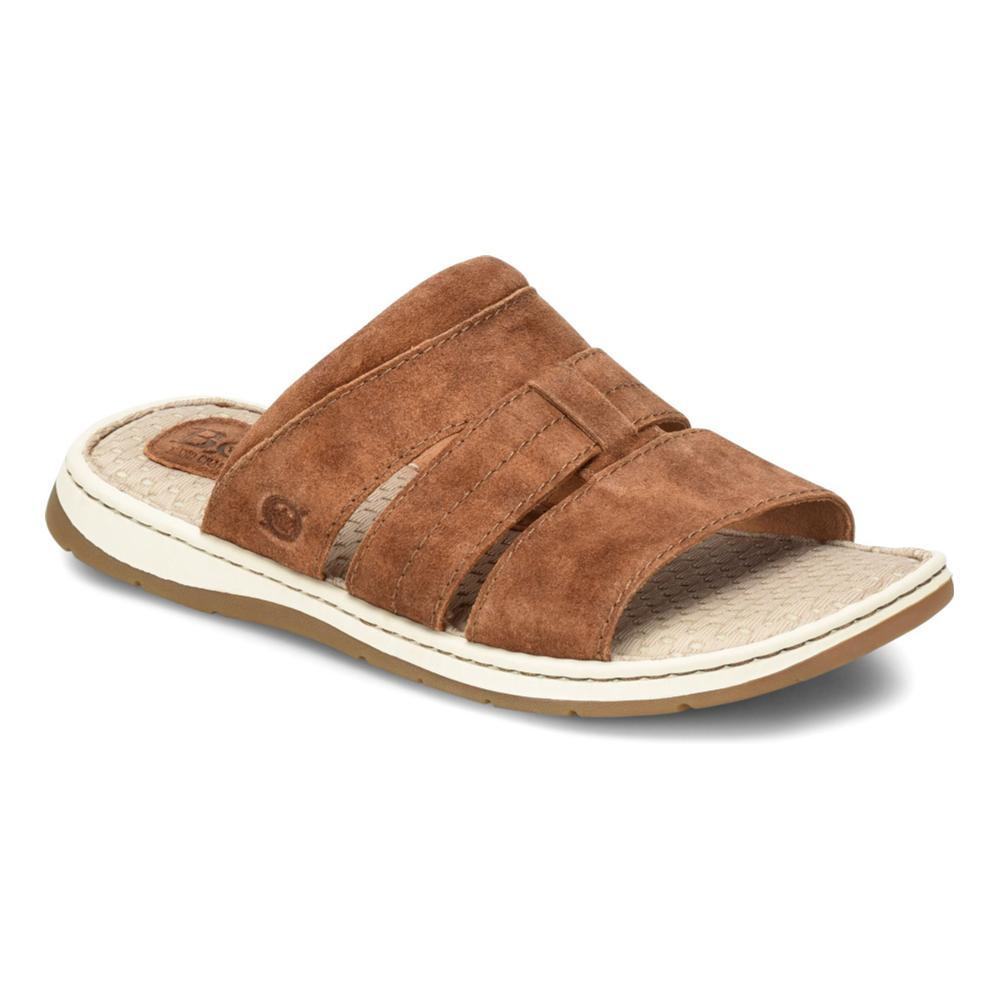 Born Men's Sail Slide Sandals RUST