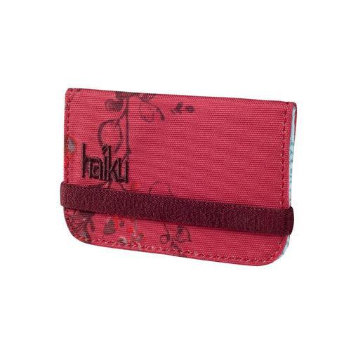 Haiku RFID Mini Wallet Cinnabar