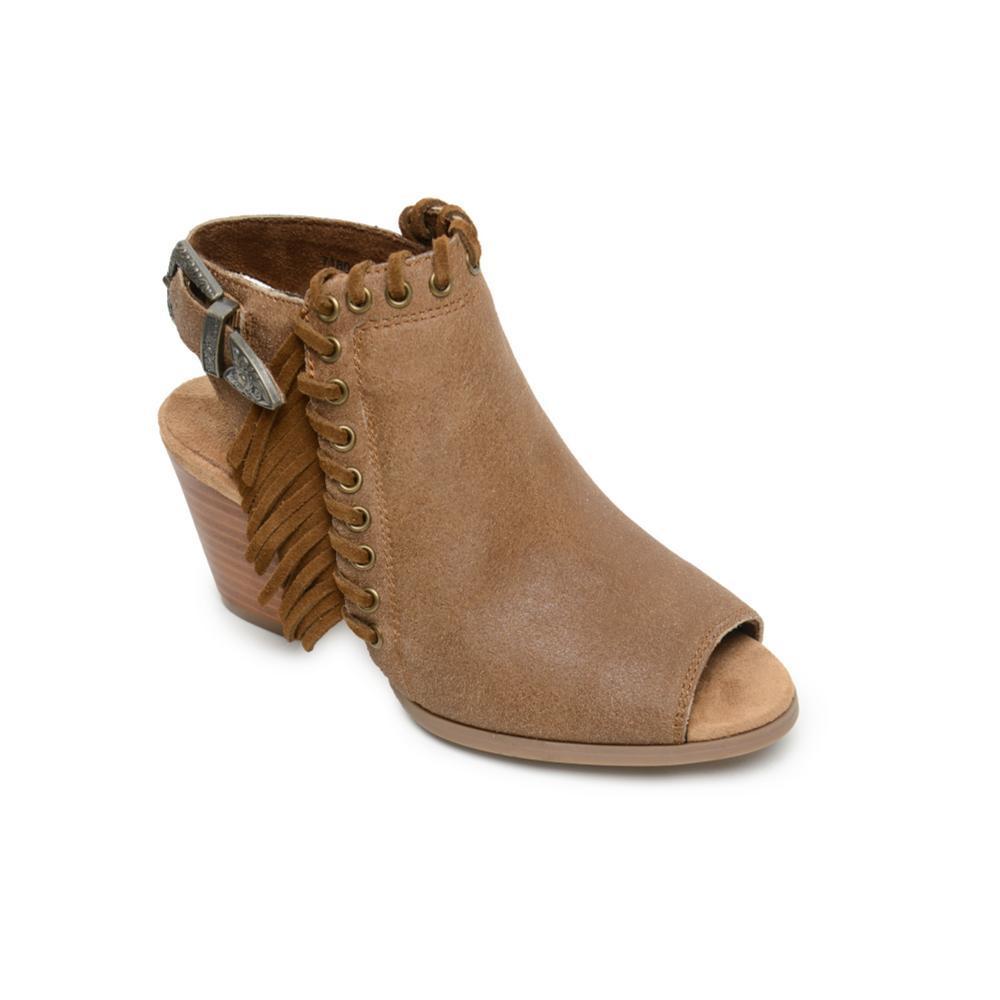 Minnetonka Women's Mae Sandals BROWNSD