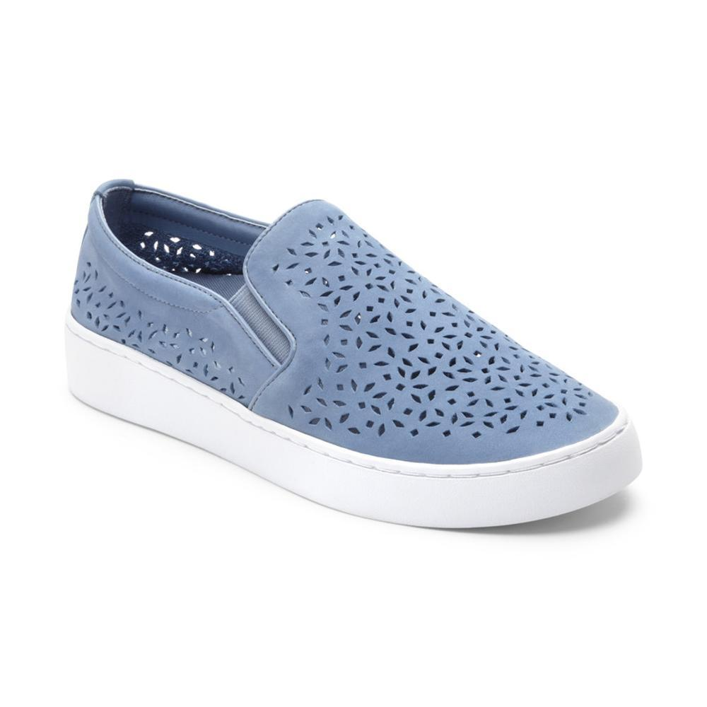 Vionic Women's Midi Perf Slip-on Sneakers LTBLUE