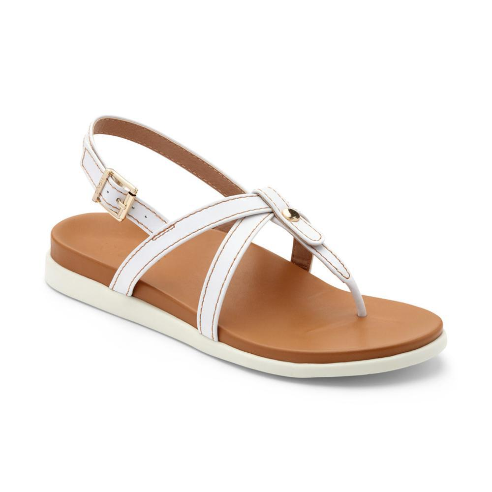 Vionic Women's Veranda Backstrap Sandals WHITE