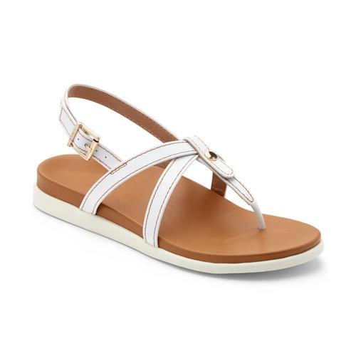 Vionic Women's Veranda Backstrap Sandals White