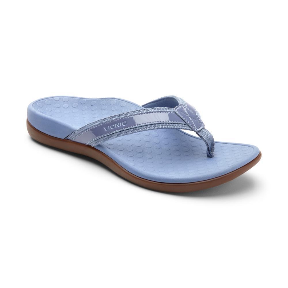 Vionic Women's Tide II Toe Post Sandals LTBLUE