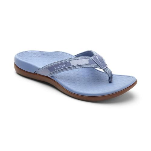 Vionic Women's Tide II Toe Post Sandals LTBLUE