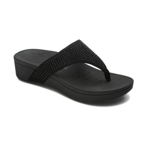 Vionic Women's Naples Platform Sandals Black