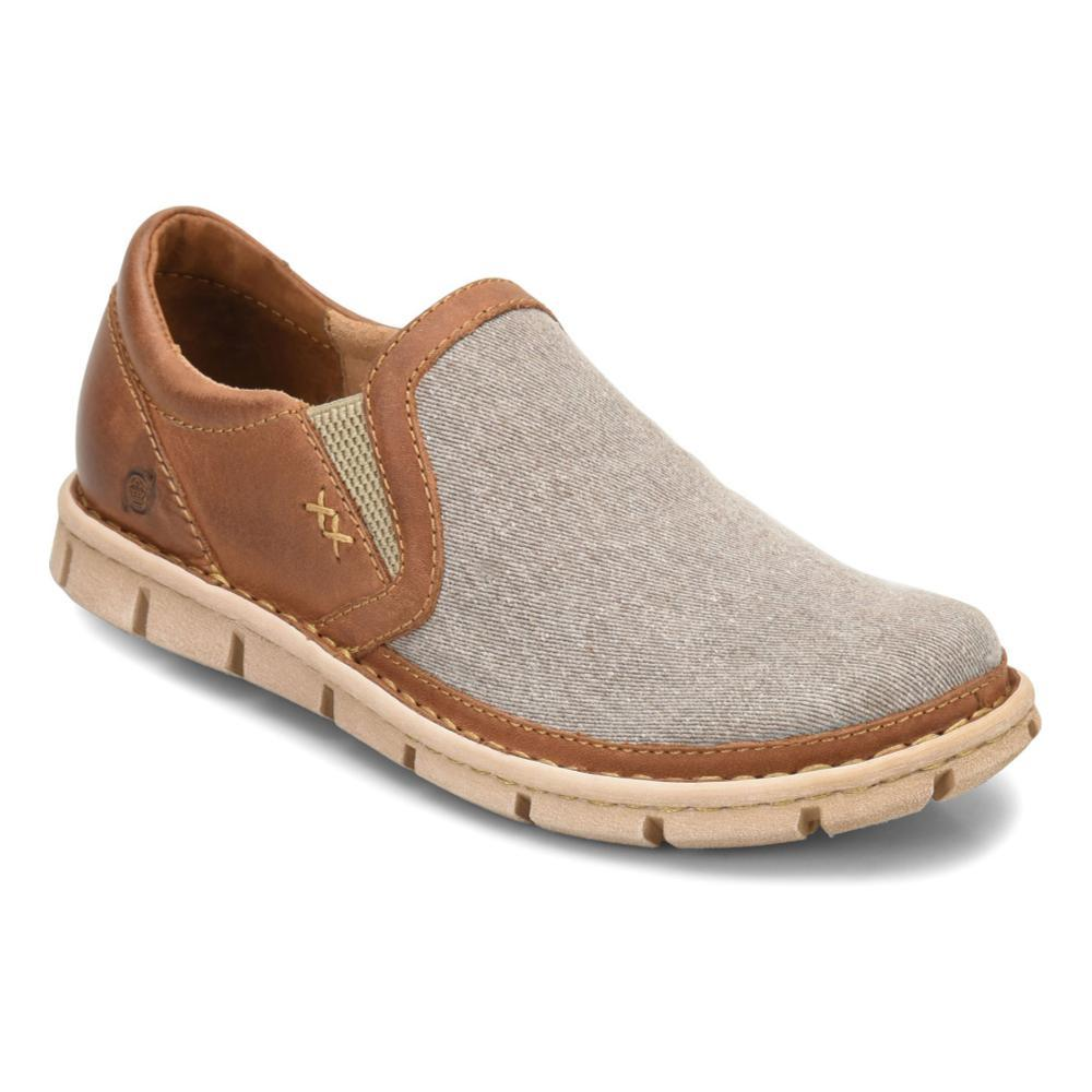 Born Men's Sawyer Slip On Shoes TAUPE.LTBRN