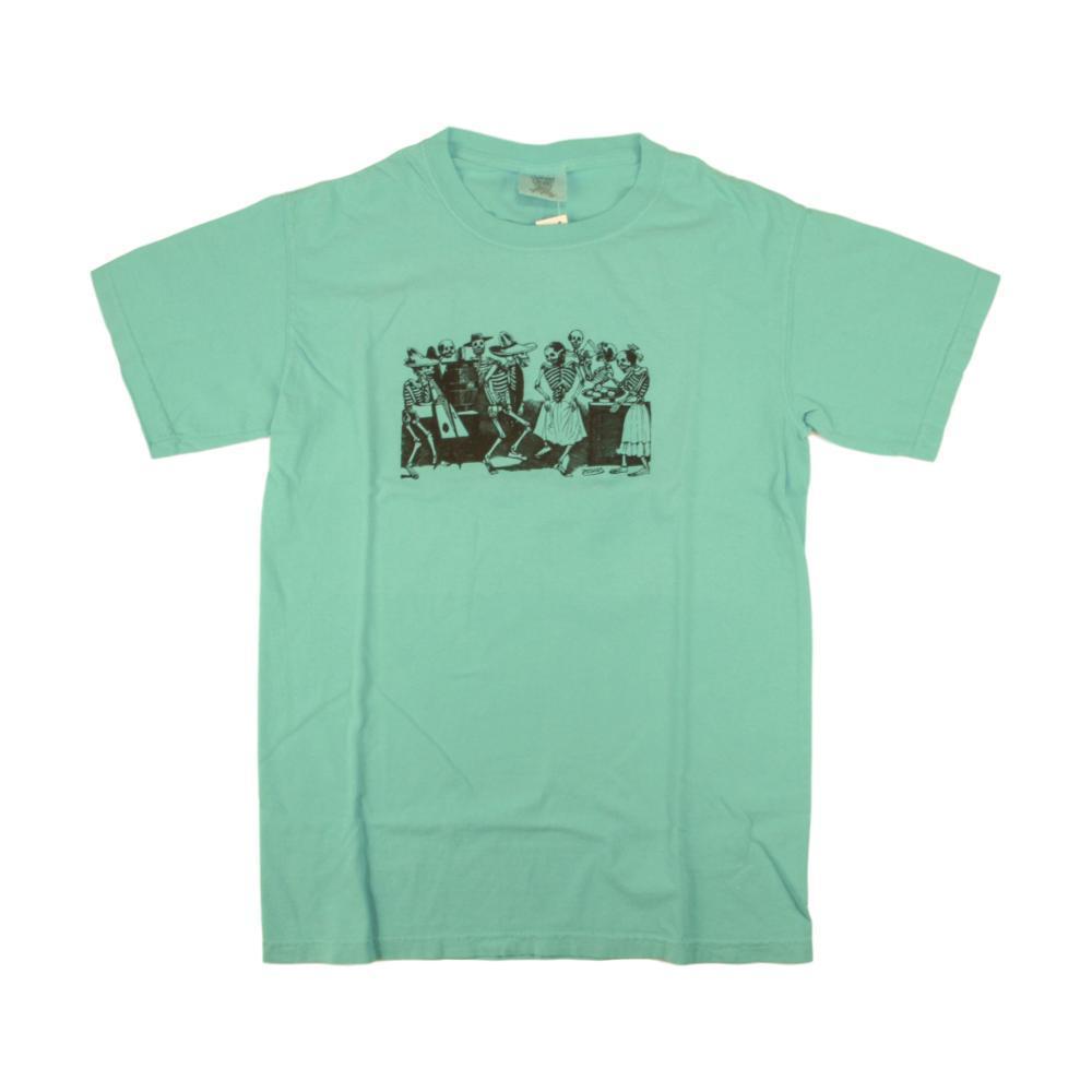 Whole Earth Provision Unisex Classic Posada T-Shirt LAGOONBLUE
