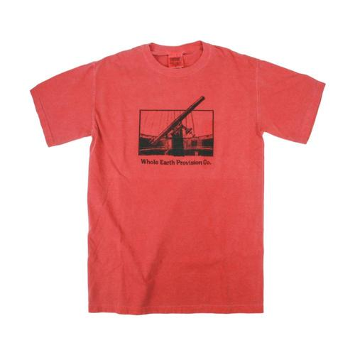 Whole Earth Provision Unisex Classic Optics T-Shirt Crimson