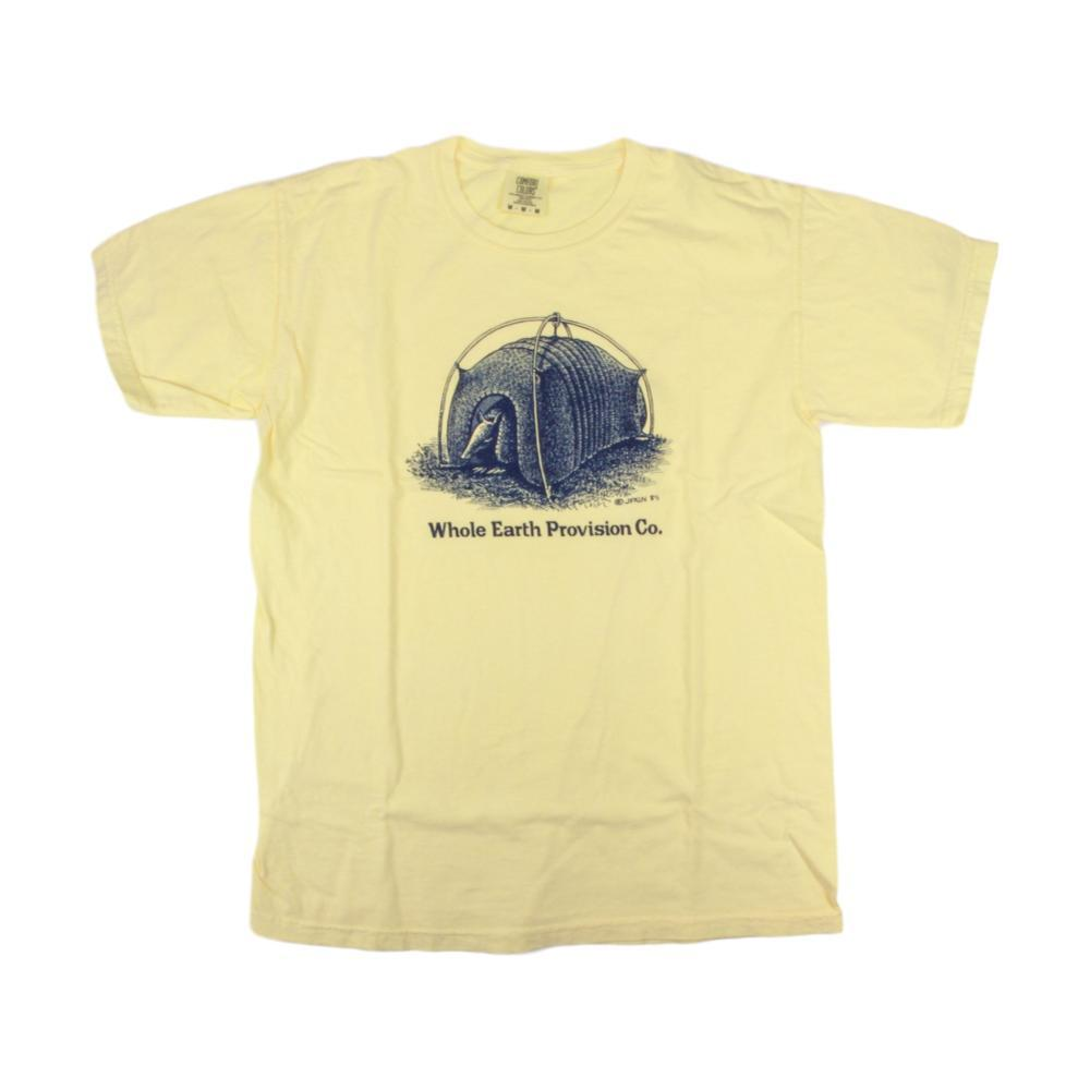 Whole Earth Provision Unisex Classic Armadillo T-Shirt BUTTER