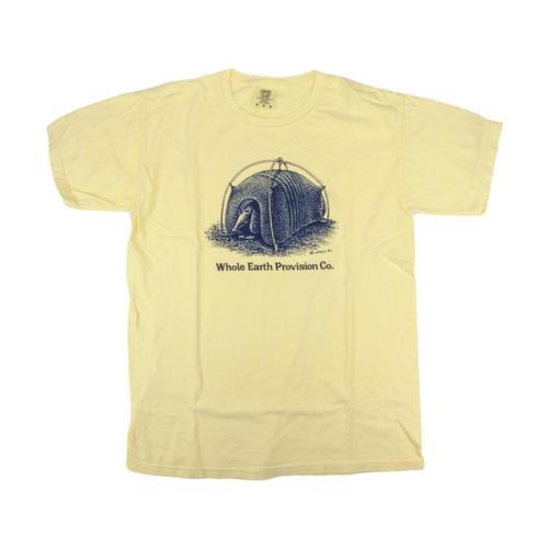 Whole Earth Provision Unisex Classic Armadillo t-shirt