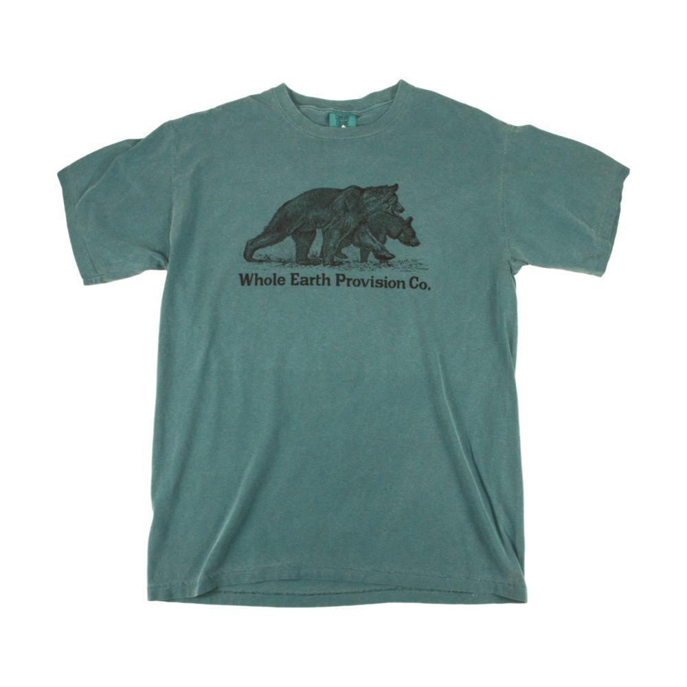Whole Earth Provision Unisex Classic Bear T-Shirt EMERALD