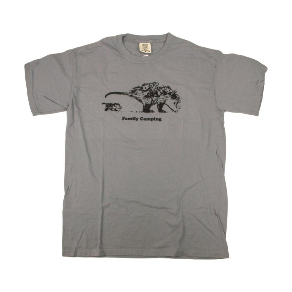 Whole Earth Provision Unisex Classic Possum T-Shirt GRANITE