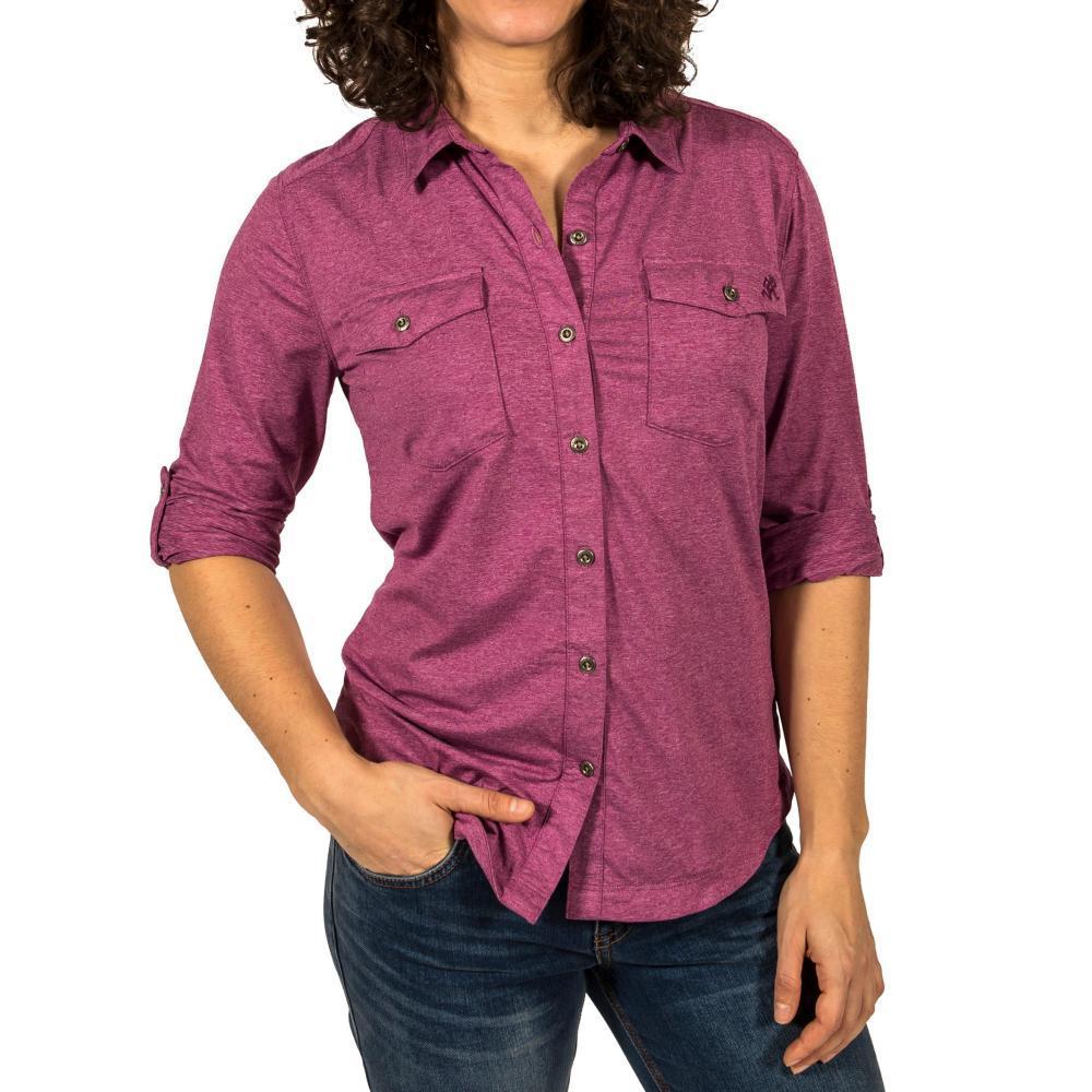 Gramicci Women's Traveler Convertible Long Sleeve Shirt HBOYSBERRY