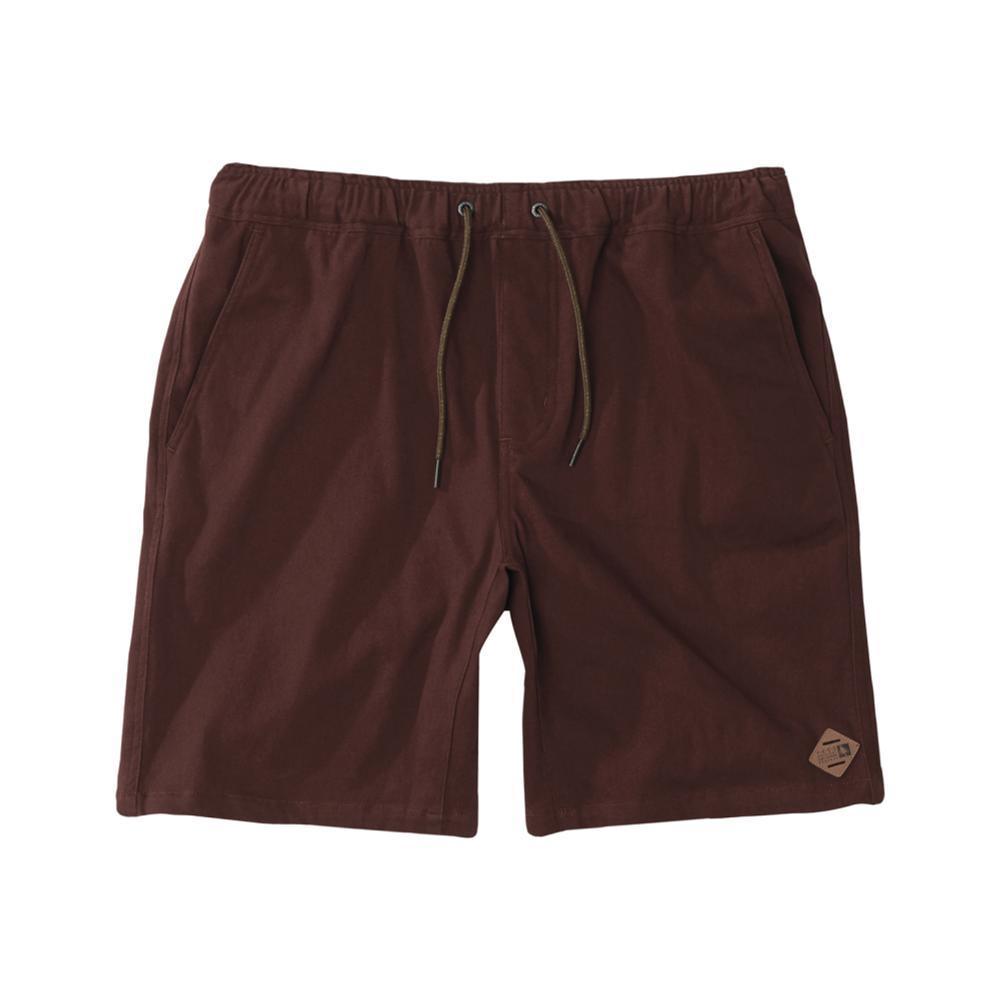 HippyTree Men's Crag Shorts RUST