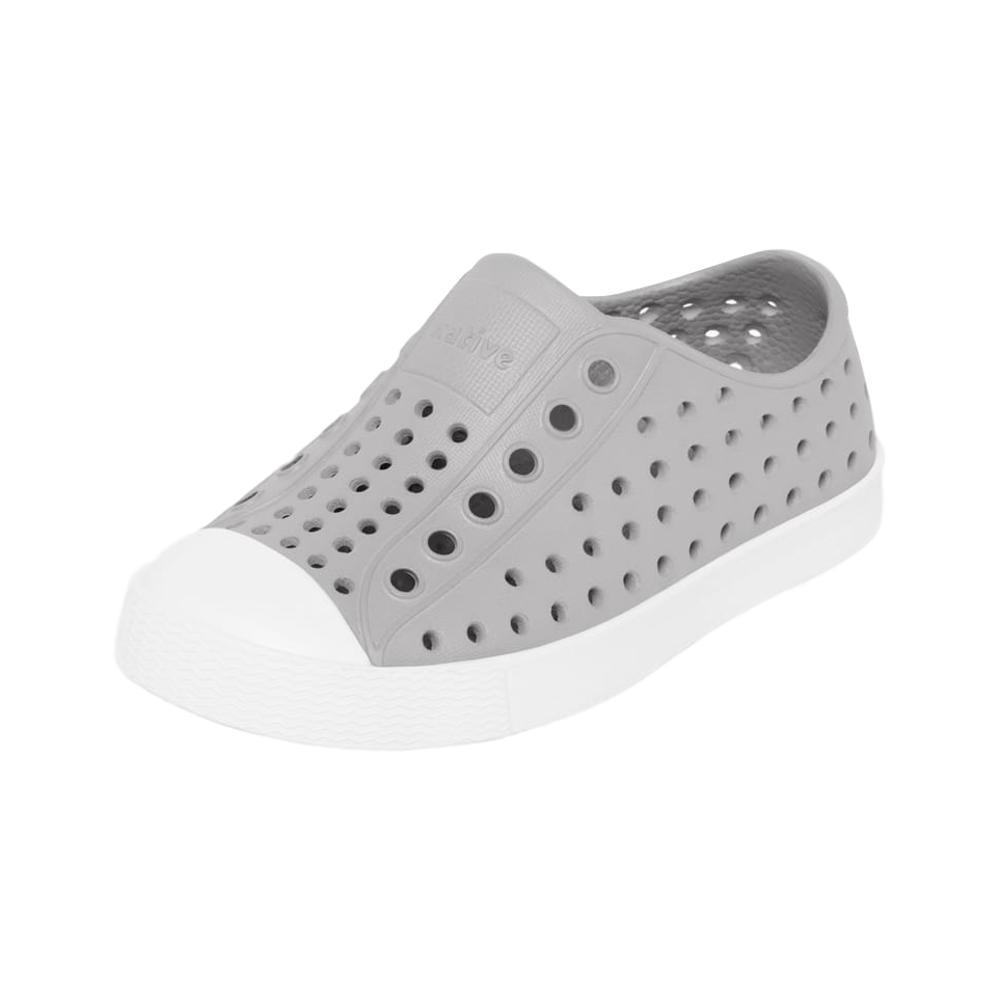 Native Kids Jefferson Shoes GRY_BWHT