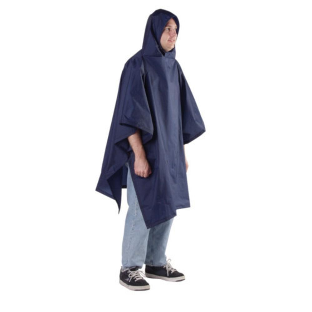Outdoor Products Backpacker Poncho - 56 x 94 NAVY_001