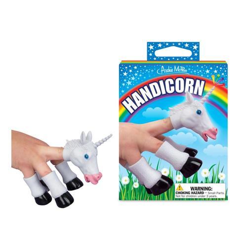 Archie McPhee Handicorn - Unicorn Finger Puppet .
