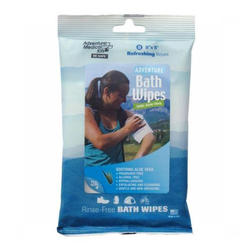 Adventure Medical Kits Adventure Bath Wipes - Travel Size .