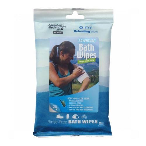 Adventure Medical Kits Adventure Bath Wipes - Travel Size .