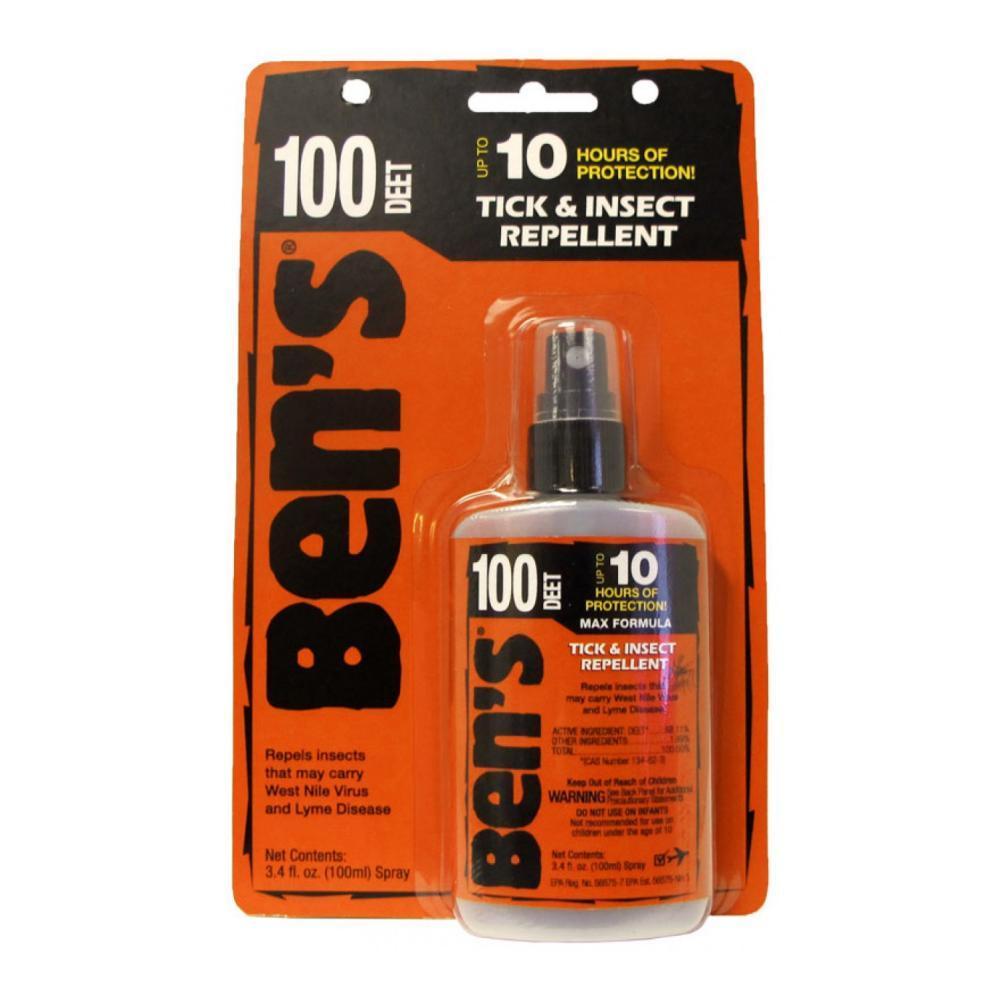 Ben's 100 Tick & Insect Repellent 3.4oz Pump