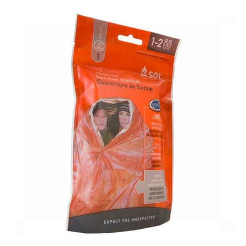 Survive Outdoor Longer 2-Person Emergency Survival Blanket .