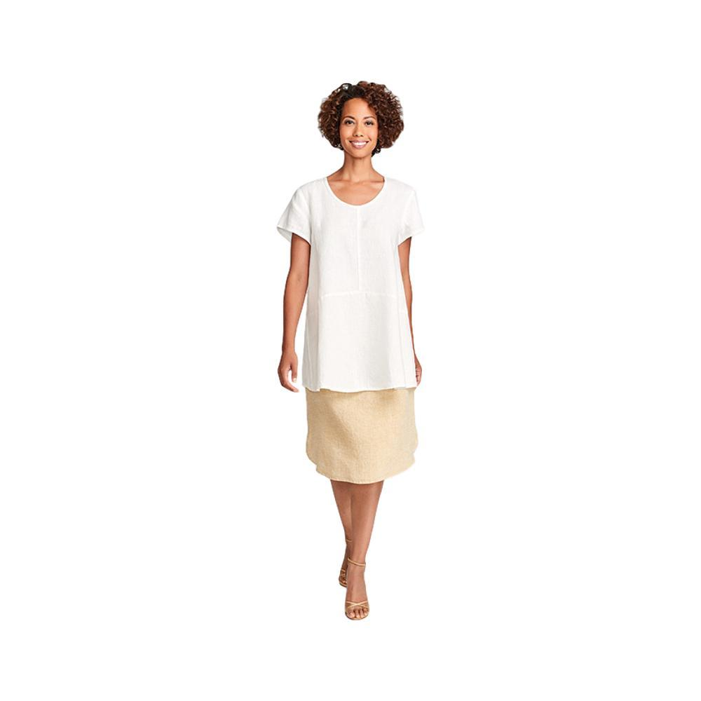 FLAX Women's Simplest Tee MILKHAND