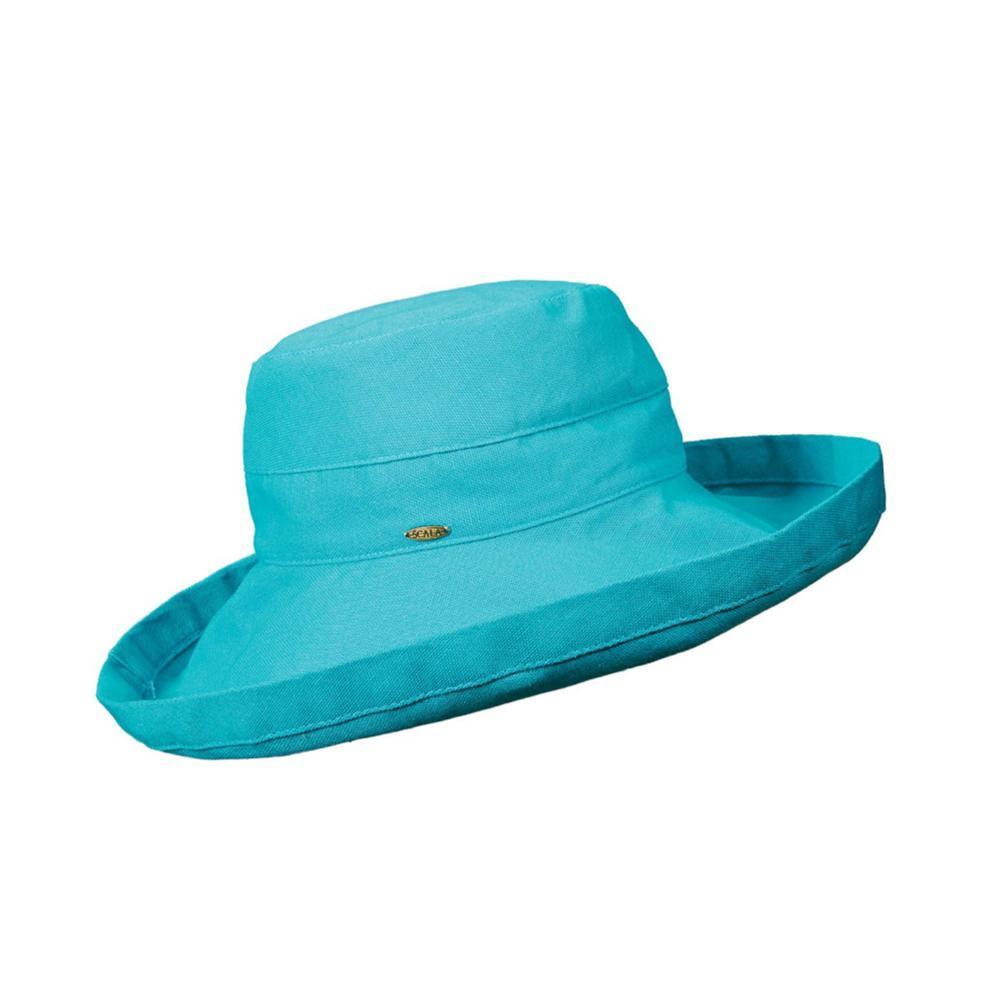 Dorfman Pacific Women's Big Brim Bucket Hat LAGOON