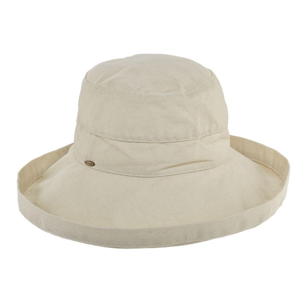 Dorfman Pacific Women's Big Brim Bucket Hat NATURAL