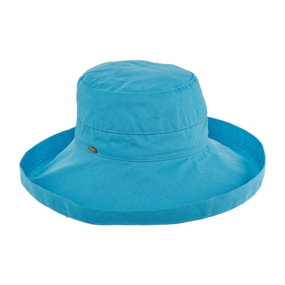 Dorfman Pacific Women's Big Brim Bucket Hat TURQUOISE