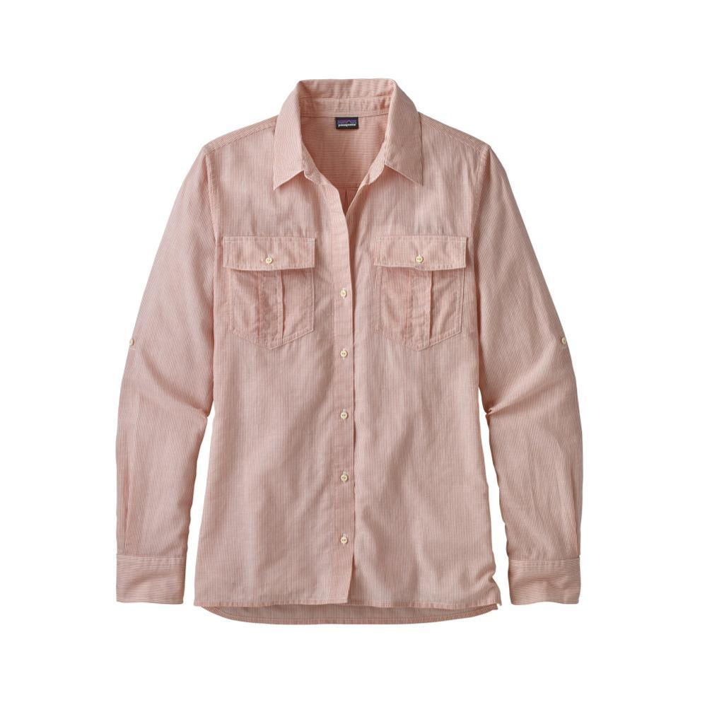 Patagonia Women's Lightweight A/C Long-Sleeved Buttondown Shirt SPQC_CORAL