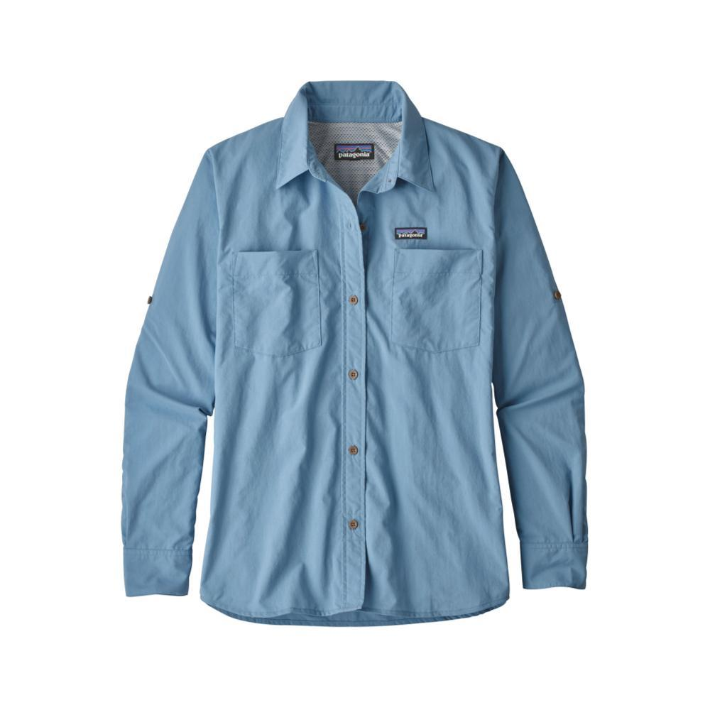 Patagonia Women's Long-Sleeved Anchor Bay Shirt RBE_BLUE