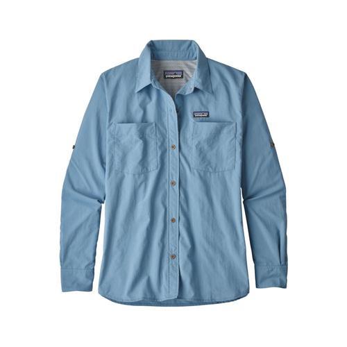 Patagonia Women's Long-Sleeved Anchor Bay Shirt Rbe_blue