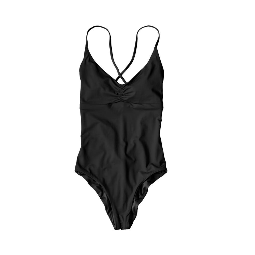 Patagonia Women's Reversible One-Piece Kupala Swimsuit BLK_BLK