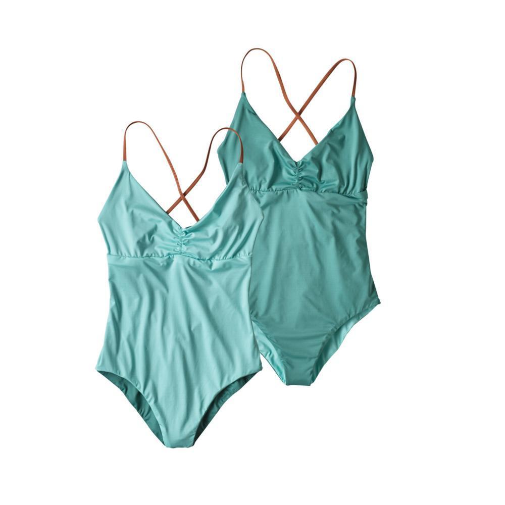 Patagonia Women's Reversible One-Piece Kupala Swimsuit BNDB_BLUE