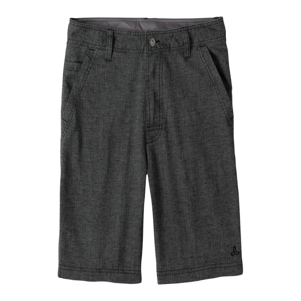 prAna Men's Furrow Shorts - 8in BLKHARRING