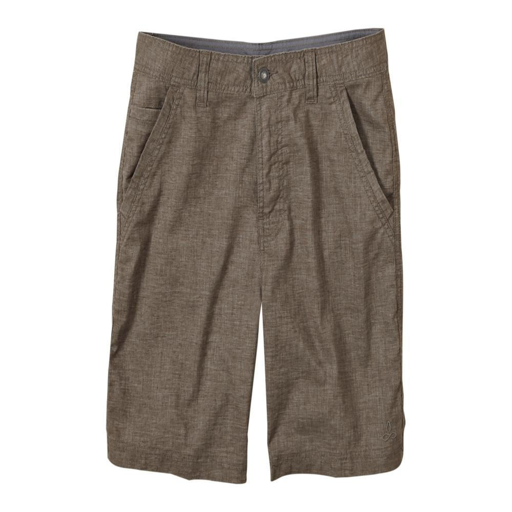 prAna Men's Furrow Shorts - 8in MUD