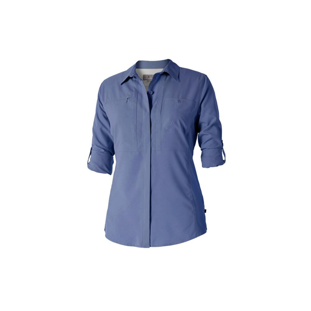 Royal Robbins Women's Expedition Chill Long Sleeve Shirt BLUEINDI
