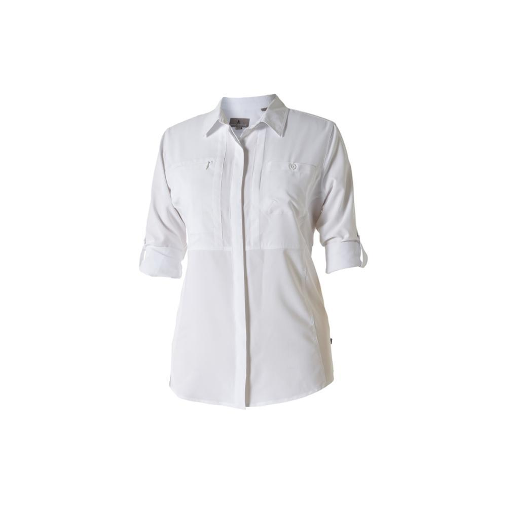 Royal Robbins Women's Expedition Chill Long Sleeve Shirt WHITE