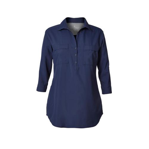 Royal Robbins Women's Expedition Chill Stretch Tunic Deepblue