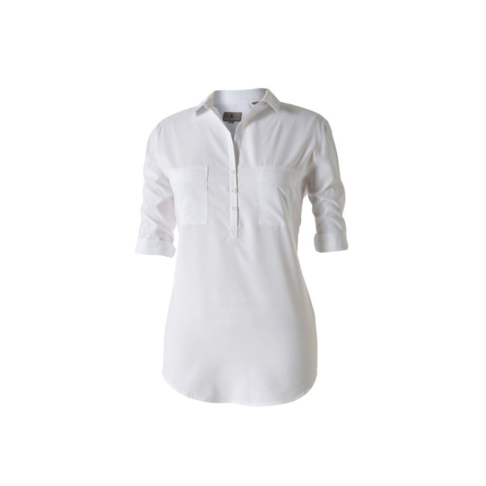 Royal Robbins Women's Expedition Chill Stretch Tunic WHITE